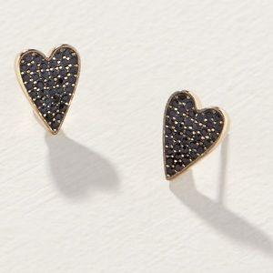 S&D Delicate Heart Stud Earrings